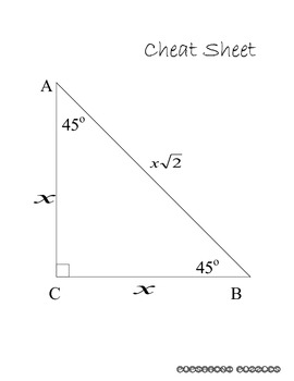 Class Activity - 45-45-90 Triangles - PP