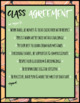 Class Agreement Posters - Tropical Theme