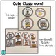 Cute Classroom! (red and black chevron alphabet and number decor)