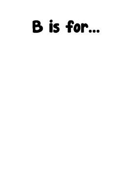 Class Alphabet book-freebie!