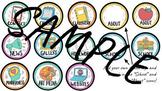 Class App Icons | Virtual Classroom Clip Art | 49 Custom Icons