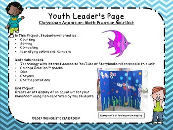 Class Aquarium:Math Practice Mini Unit