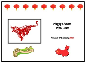 Chinese New Years 2020.Class Assembly Chinese New Year 2020
