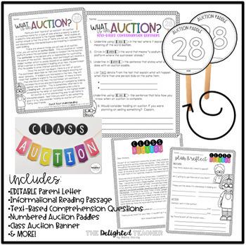 Class Auction Bundle