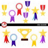 Class Awards Clipart by Poppydreamz