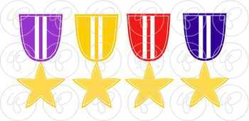 Class Awards Clipart by Poppydreamz