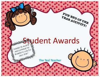 Class Awards: Students Choice Awards