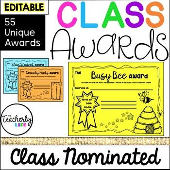 Class Awards - Ultimate 52 Set (80 Total) *EDITABLE*