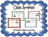 Awards and Certificates