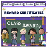 End of Year Class Awards - Class Awards - Reward Certificates