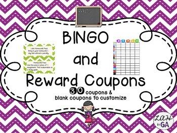 Class BINGO and Reward Coupons