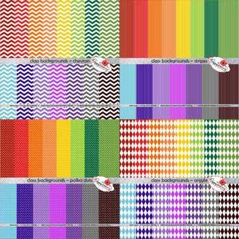 Class Backgrounds BUNDLE Digital Paper by Poppydreamz