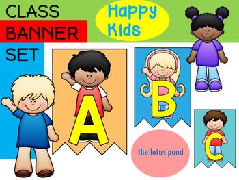 Class Banner : Happy Kids