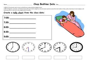 Class Bedtime Graph