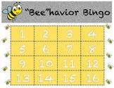 Class Beehavior Bingo Chart with Class Rules Plus Classroom Management Ideas