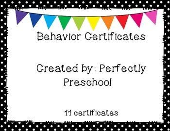 Class Behavior Certificates