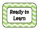 Class Behavior Clip Chart