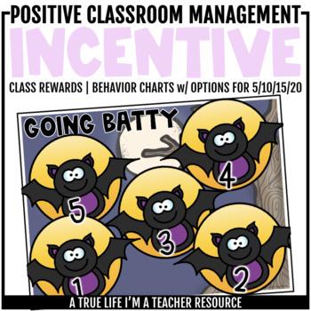 Class Incentive | Class Reward | Behavior Chart - Batty Behavior