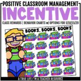 Class Incentive | Class Reward | Behavior Chart - Books/Reading
