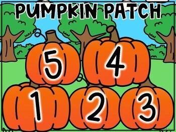 Class Incentive   Class Reward   Behavior Chart - Pumpkin Patch