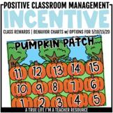 Class Incentive | Class Reward | Behavior Chart - Pumpkin Patch