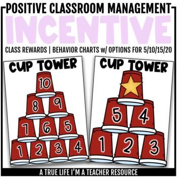 Class Behavior Incentive - Cup Tower