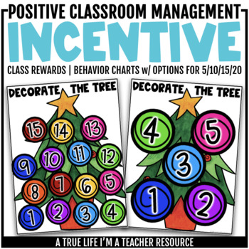 Class Incentive | Class Reward | Behavior Chart - Decorate the Tree