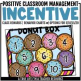 Class Incentive | Class Reward | Behavior Chart - Donut Box