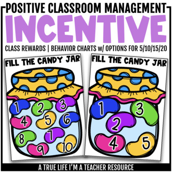 Class Incentive | Class Reward | Behavior Chart - Jellybean Behavior