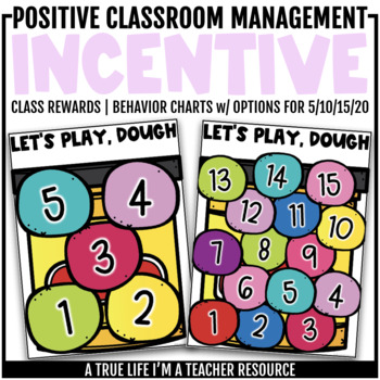Class Behavior Incentive - Play Dough