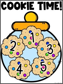 Class Behavior Incentive - Cookie Time