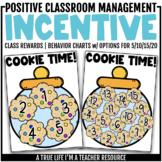 Class Incentive | Class Reward | Behavior Chart - Cookie Time