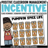 Class Incentive | Class Reward | Behavior Chart - Pumpkin Spice