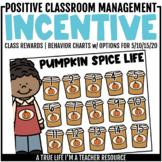Class Behavior Incentive - Pumpkin Spice
