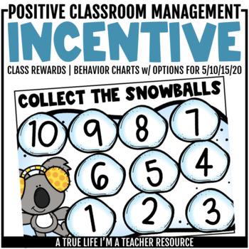 Class Incentive | Class Reward | Behavior Chart - Snowy Behavior