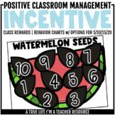 Class Incentive | Class Reward | Behavior Chart - Watermelon Seeds