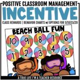 Class Incentive | Class Reward | Behavior Chart - Beach Ball Fun