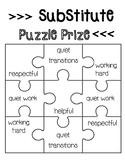Class Behavior Incentive puzzle