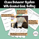 Behavior Chart | Class Behavior System with Goal Setting| Growth Mindset
