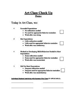 Class Behavior in Specials