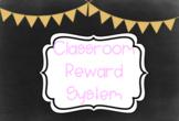 Class Behaviour Reward System