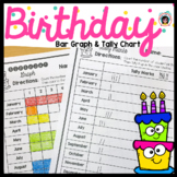 Spanish Birthday Bar Graph and Tally Mark Page