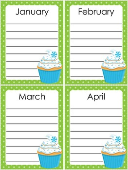 Class Birthday Board - Seeing Spots Theme {Bright and Polka Dot}