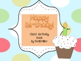 Class Birthday Book Writing