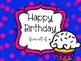 Class Birthday Book {Freebie}
