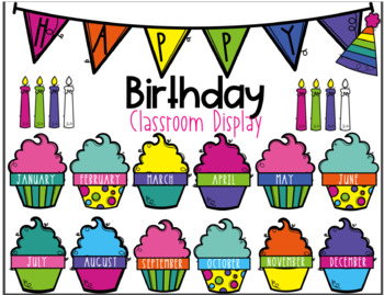 Class Birthday Chart By Bilingual Printable Resources