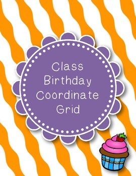 Class Birthday Coordinate Graphing