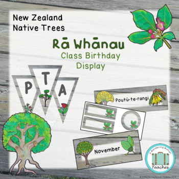 Class Birthday Display - Native New Zealand Tree