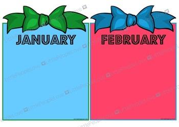Class Birthday Months