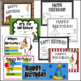 Circus Birthday- Editable